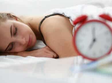 Slapen als een roos voedingsmiddelen