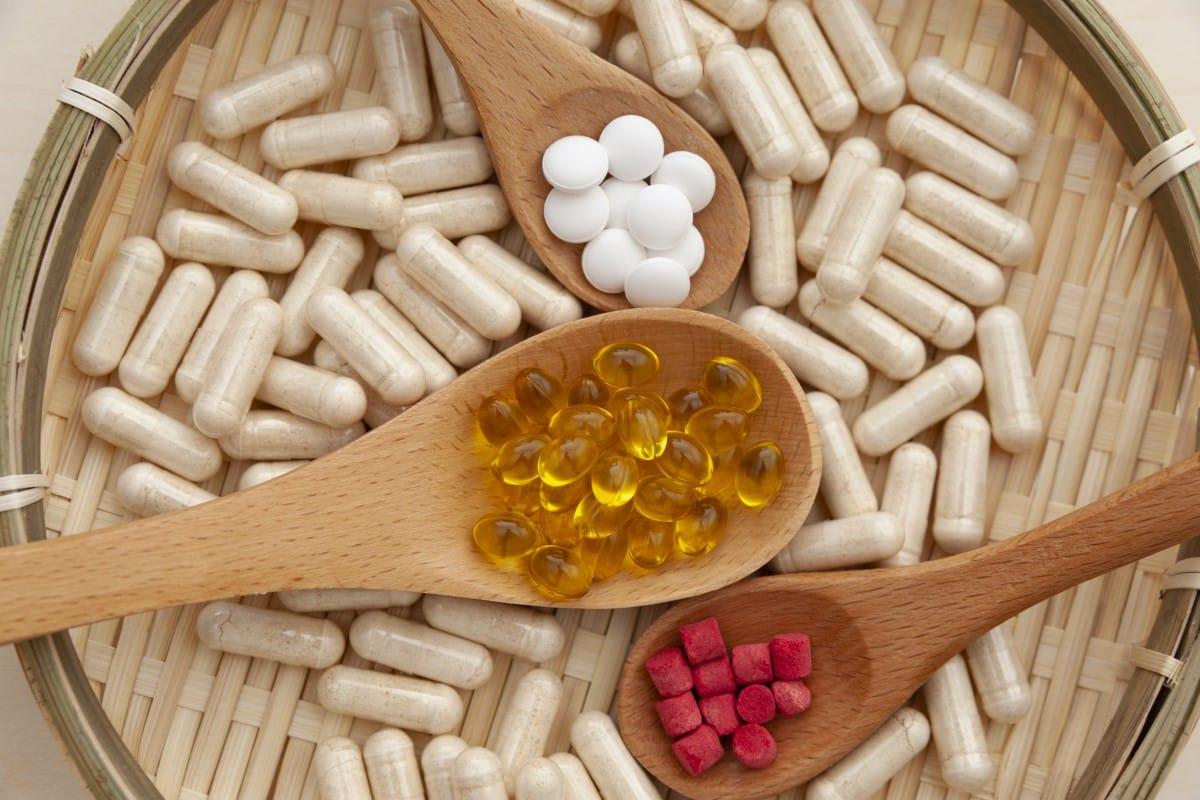 Supplementen met vitamine en mineraal